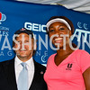 Photo by Tony Powell. Mark Ein, Venus Williams. Kastles VIP Reception. Kastles Stadium. July 7, 2010